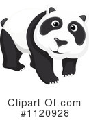 Royalty-Free (RF) Panda Clipart Illustration #1120928