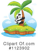 Royalty-Free (RF) Panda Clipart Illustration #1123902