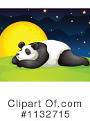 Royalty-Free (RF) Panda Clipart Illustration #1132715