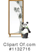 Royalty-Free (RF) Panda Clipart Illustration #1132716