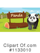 Royalty-Free (RF) Panda Clipart Illustration #1133010