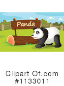 Royalty-Free (RF) Panda Clipart Illustration #1133011