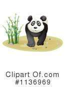 Royalty-Free (RF) Panda Clipart Illustration #1136969