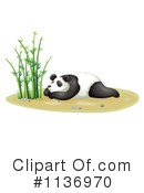 Royalty-Free (RF) Panda Clipart Illustration #1136970