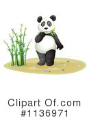 Royalty-Free (RF) Panda Clipart Illustration #1136971