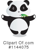 Royalty-Free (RF) Panda Clipart Illustration #1144075