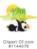 Royalty-Free (RF) Panda Clipart Illustration #1144076