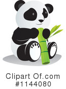 Royalty-Free (RF) Panda Clipart Illustration #1144080