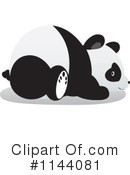 Royalty-Free (RF) Panda Clipart Illustration #1144081