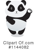 Royalty-Free (RF) panda Clipart Illustration #1144082