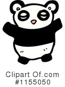Royalty-Free (RF) Panda Clipart Illustration #1155050