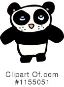 Royalty-Free (RF) Panda Clipart Illustration #1155051