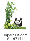 Royalty-Free (RF) Panda Clipart Illustration #1167164
