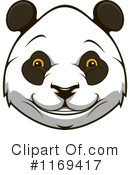 Royalty-Free (RF) Panda Clipart Illustration #1169417