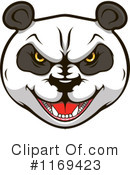Royalty-Free (RF) Panda Clipart Illustration #1169423