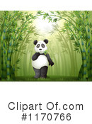 Royalty-Free (RF) Panda Clipart Illustration #1170766