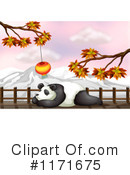 Royalty-Free (RF) Panda Clipart Illustration #1171675