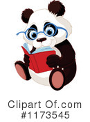 Royalty-Free (RF) Panda Clipart Illustration #1173545