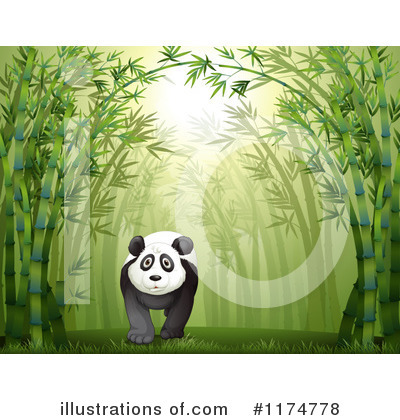 Panda Clipart #1174778 by Graphics RF