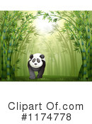 Royalty-Free (RF) Panda Clipart Illustration #1174778