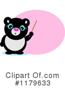 Royalty-Free (RF) Panda Clipart Illustration #1179633