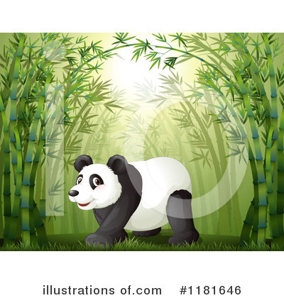 Panda Clipart #1181646 by Graphics RF