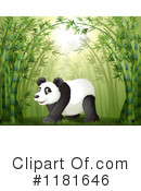 Royalty-Free (RF) Panda Clipart Illustration #1181646