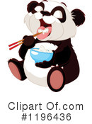Panda Clipart #1196436 by Pushkin