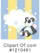 Panda Clipart #1210461 by Graphics RF