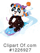 Panda Clipart #1226927 by Pushkin