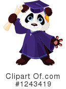 Panda Clipart #1243419 by Pushkin