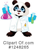 Panda Clipart #1248265 by Pushkin