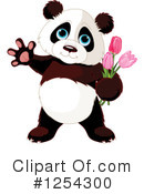 Panda Clipart #1254300 by Pushkin