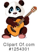 Panda Clipart #1254301 by Pushkin