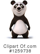 Royalty-Free (RF) Panda Clipart Illustration #1259738