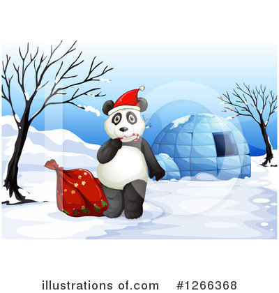 Igloo Clipart #1266368 by Graphics RF
