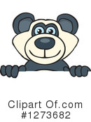 Royalty-Free (RF) Panda Clipart Illustration #1273682