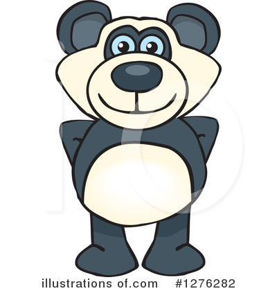 Bear Clipart #1276282 by Dennis Holmes Designs
