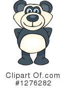 Royalty-Free (RF) Panda Clipart Illustration #1276282