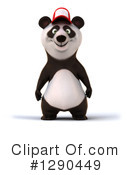Royalty-Free (RF) Panda Clipart Illustration #1290449