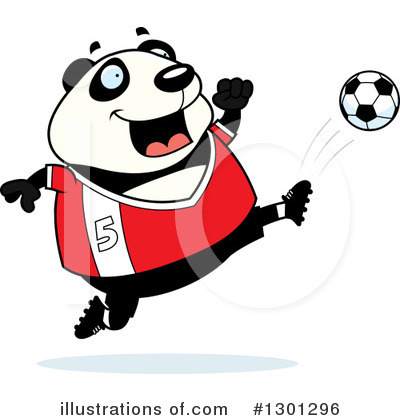 Royalty-Free (RF) Panda Clipart Illustration by Cory Thoman - Stock Sample #1301296