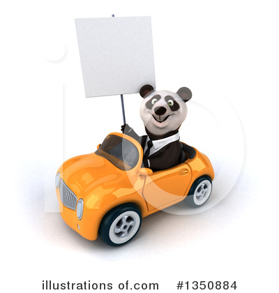 Business Panda Clipart #1350884 by Julos