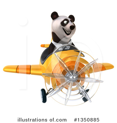 Business Panda Clipart #1350885 by Julos