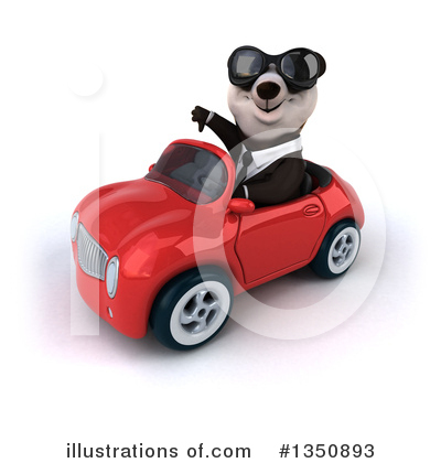 Business Panda Clipart #1350893 by Julos