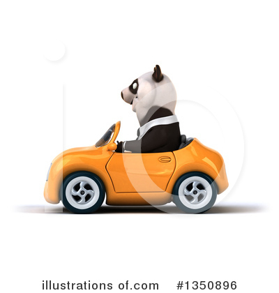 Business Panda Clipart #1350896 by Julos