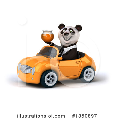 Business Panda Clipart #1350897 by Julos