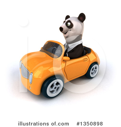 Business Panda Clipart #1350898 by Julos