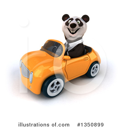 Business Panda Clipart #1350899 by Julos