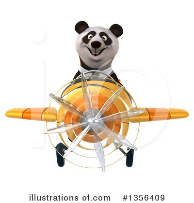Business Panda Clipart #1356409 by Julos