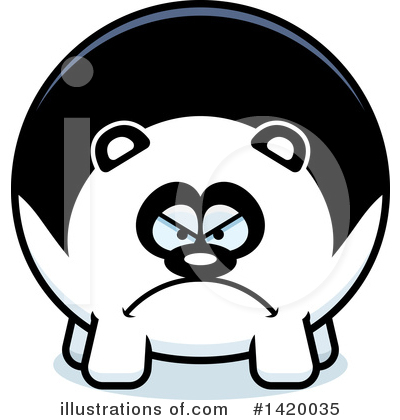 Panda Clipart #1420035 by Cory Thoman